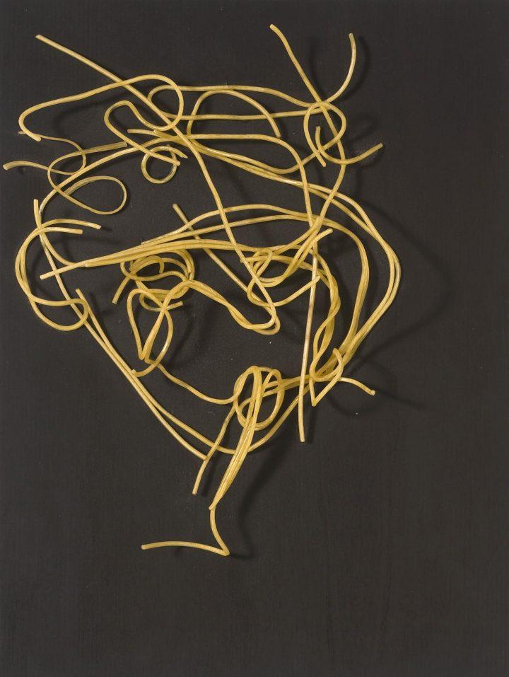 Lo schizzato – spaghetti – 30 x 40 x 12 cm