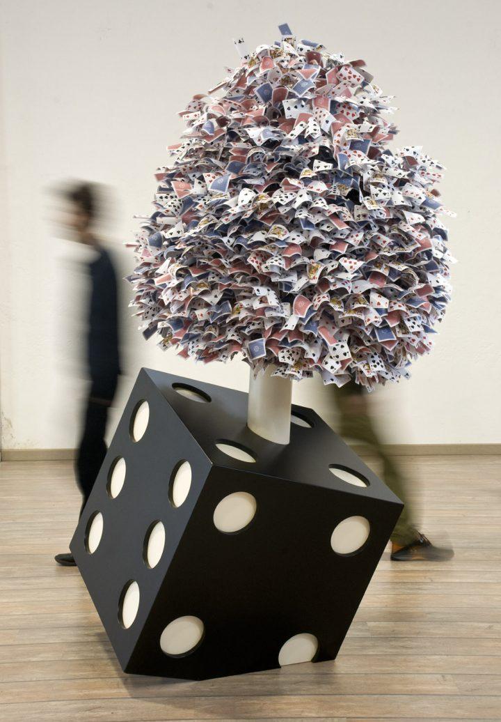 Mosaico Tree-dimensionale (2011) - 120 x 240 x 130 cm