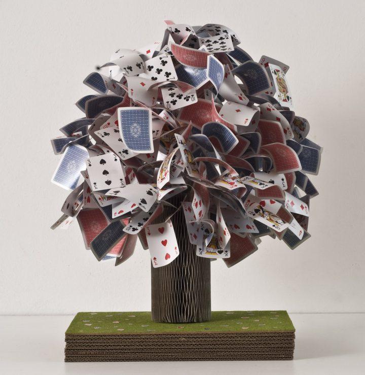 Omaggio a Munari (2011) - 55 x 60 x 50 cm