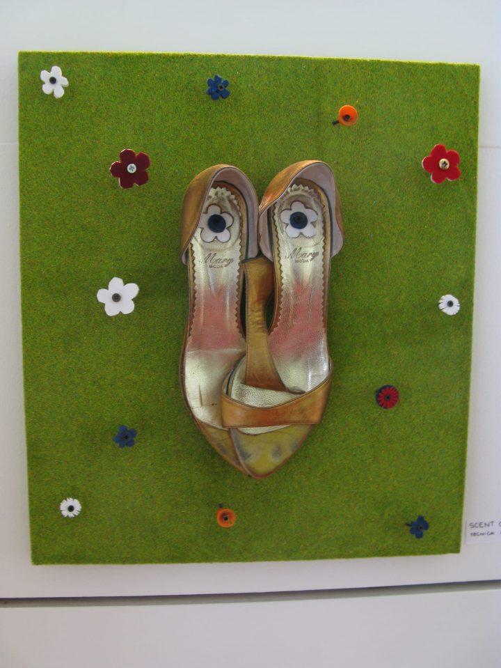 Scent of a woman (2008) – Tecnica mista - 40 x 46 x 10 cm